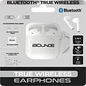 Bounce Buds Series True Wireless Earphones with Silicone Accessories White