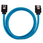 Corsair Premium Sleeved SATA 6Gbps 60cm Cable ? Blue
