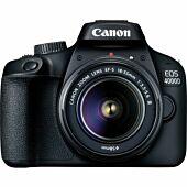 Canon EOS 4000D Black + EF-S 18-55mm III Lens + Bag + 16GB SD Card