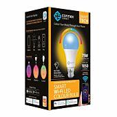 Smart Wi-Fi 10W LED Bulb RGB+W Bayonet