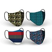 Clinic Gear Washable Printed Mask Boys Asst - Mixed