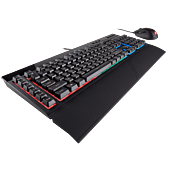 Corsair K55 + HARPOON RGB Keyboard and Mouse Combo Rubber Dome Switches 10000 DPI