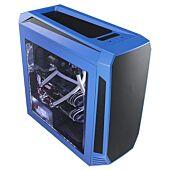 Bitfenix AEG-300-BKWL1 AEgis - Blue + Windowed + Icon Display