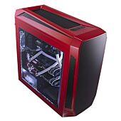 Bitfenix AEG-300-RKWL1 AEgis - Red + Windowed + Icon Display