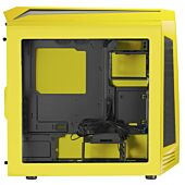 Bitfenix AEG-300-YKWN1 AEgis core - Yellow + Windowed + Icon Display