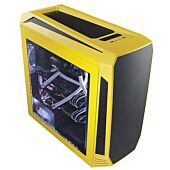 Bitfenix AEG-300-YKWL1 AEgis - Yellow + Windowed + Icon Display