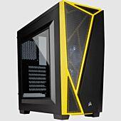 Corsair Carbide Series SPEC-04 Mid-Tower Gaming Case Black/Yellow
