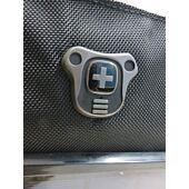 Swiss Digital Black and Grey Solar Backpack