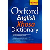 OXFORD Hard Back Monolingual English/Xhosa Dictionary (Grade 8)