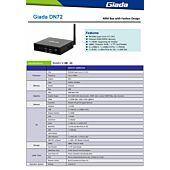 Giada DN72 Android RK3288 Quad Core A17 1.6Ghz