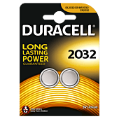 Duracell Lithium CR2032 Blister Pack 2