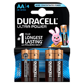 Duracell Ultra AA Blister Pack 4