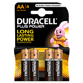Duracell Plus AA Blister Pack 4
