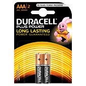 Duracell Plus AAA Blister Pack 2