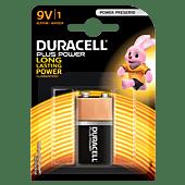 Duracell Plus 9V Blister Pack