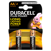 Duracell Plus AA Blister Pack 2