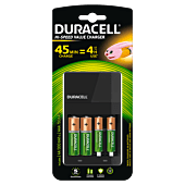 Duracell Charger Incl 2AA & 2AAA