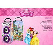 Disney Double Tower Speaker Metal Frame Bluetooth - Princesses