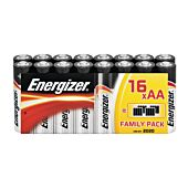 Energizer Alkaline Power AA Blister Pack 16
