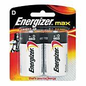 Energizer Alkaline Power D Blister Pack 2