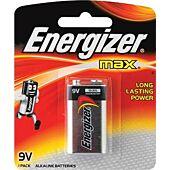 Energizer Alkaline Power 9V Blister Pack 1