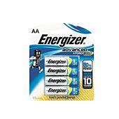 Energizer Advaned Range AA Blister Pack 4