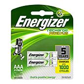 Energizer Recharge AAA 700mAh Blister Pack 2