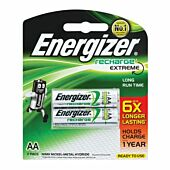 Energizer Recharge AA 2500mAh Blister Pack 2