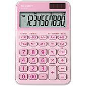 Sharp EL-M335B-BL 10 Digit Calculator Pink