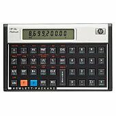 HP 12C Platinum - (Algebraic or RPN) Financial Calculator