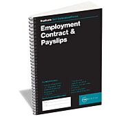 RBE Employment Contract & Payslip Book A5 (Spiral) Duplicate