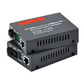 100mbps Fibre Optic to Ethernet CON SM
