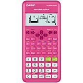 Casio FX-82ZA Plus II Scientific Calculator - Pink