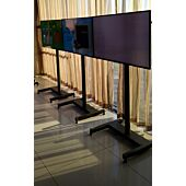 HowLo floor X-Stand - for screens up to 52inch