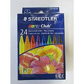 STAEDTLER REGULAR WAX CRAYONS - 24's
