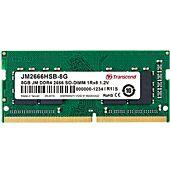 Transcend JetRam 16GB 2x8GB Kit DDR4 2666MHz CL19 SO-DIMM Memory Module