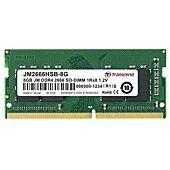 Transcend 8GB DDR4 2666MHz SO-DIMM 1rx8 1gx8 CL19 1.2v Memory Module