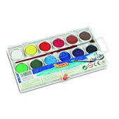 JOVI Watercolour Paints Set of 12 Assorted Colours (Box-6)