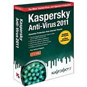 Kaspersky Anti-Virus 2011 1 User DVD