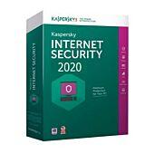Kaspersky Internet Security 2020 3+1 device 1 year DVD