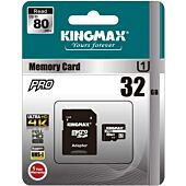 Kingmax 32GB Micro SD with Adapter