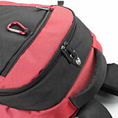 Kingsons 15.4 inch Laptop Backpack with Key Chain - Red