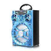Portable Speaker with Radio Blue