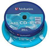 VER CD-R 52 X 700MB 25 PCK