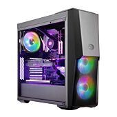 Cooler Master Masterbox MB500 ATX Tempered Glass Panel ARGB Controller Included 3 x 120mm ARGB Fans
