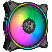 Cooler Master MasterFan MF120R ARGB 120mm Fan Halo Lighting 3 Pack of fans