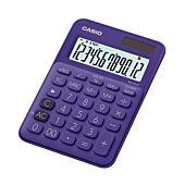 Casio MS-20UC-PL-S-EC Desktop Calculator Purple