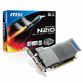 MSI GT 210 1GB DDR3 Low Profile Graphics Card