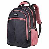 Playground Orthopaedic Backpack 27L Dark Grey and Pink