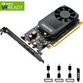 PNY NVIDIA Quadro P400V2 2GB DDR5 PCIe 3.0 Workstation GPU 3x DP